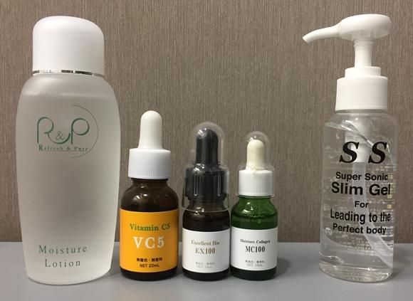 ツインエレナイザーPRO2専用の美容液・ジェル
