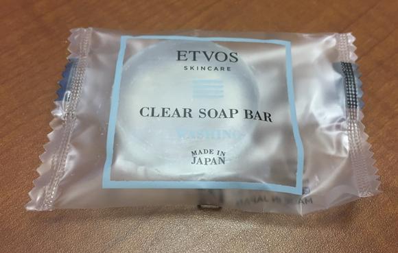 エトヴォスの洗顔石鹸『クリアソープバー』