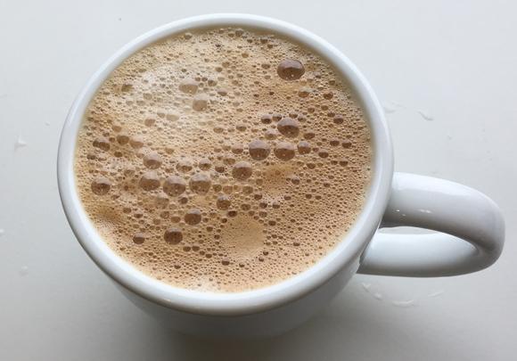 ゴールドブレンドバリスタで淹れたコーヒー