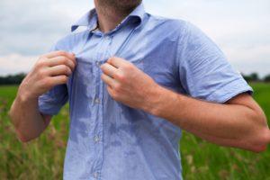 多汗症の兆候と症状