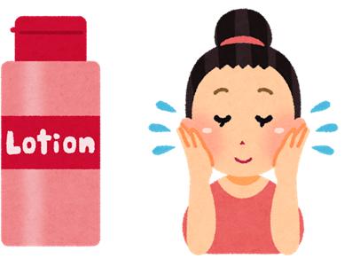 化粧水の正しい付け方