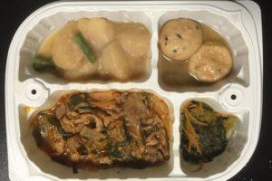 豚キムチ炒め弁当