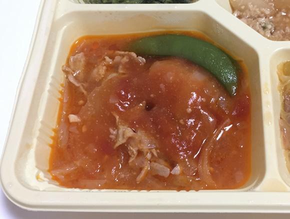 豚肉のトマトソース主菜