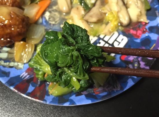 青梗菜のお浸し