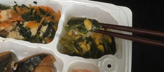 チンゲン菜とコーンの中華炒め