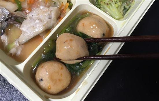 小松菜とがんものオイスターソース