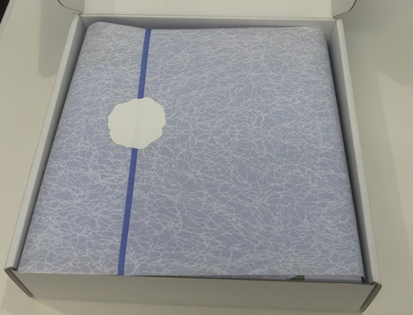 ラ・ミューテ美肌セットの箱の敷物